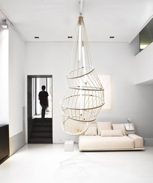 large ceiling light