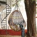 macrame chair design for backyard decorating