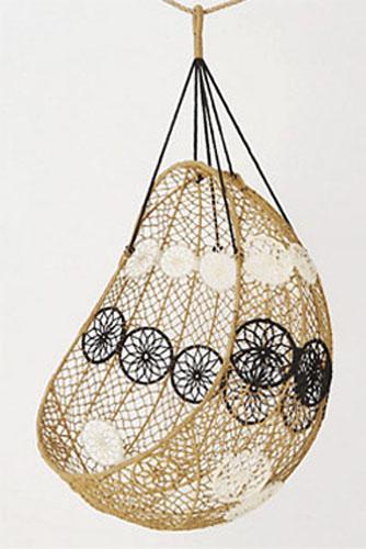 macrame hanging chair melati charming backyard ideas