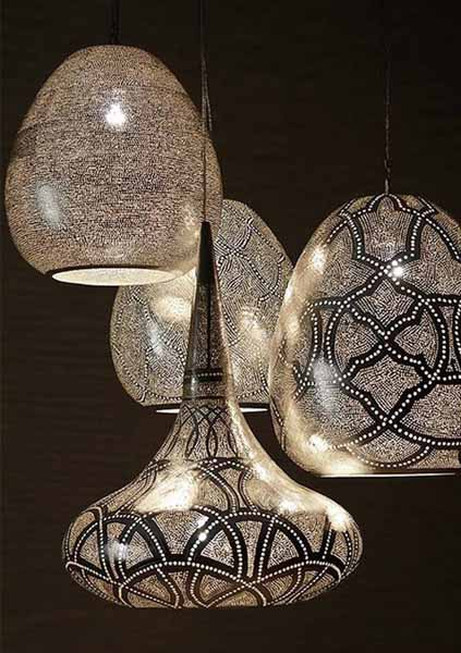 egyptian designs, ceiling lights and arabic decor