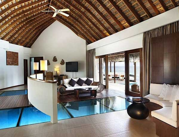 tropical home decorating ideas inspired by maldives w retreat resort - Tropical Interior Design Living Room