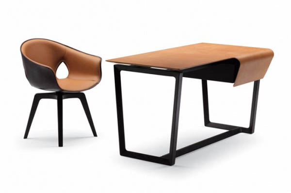 modern table and chair set for office