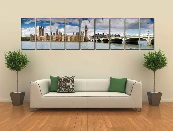 panoramic posters for living room decorating