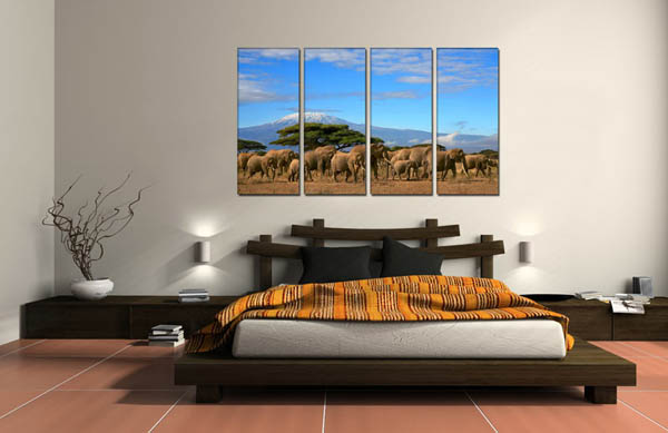 panoramic posters for wall decoration
