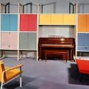 retro furniture and decorative accessories
