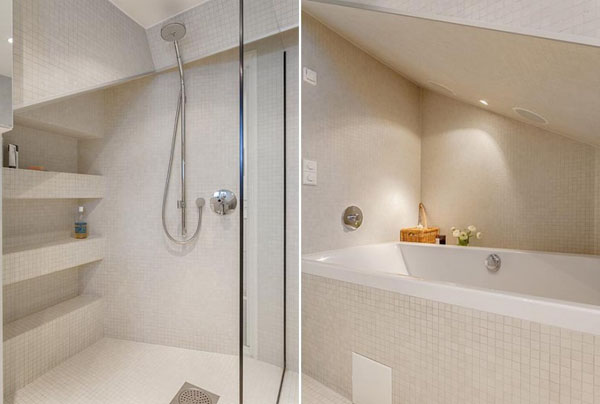 glass door shower design