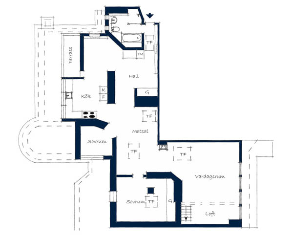 apartment design plan layout