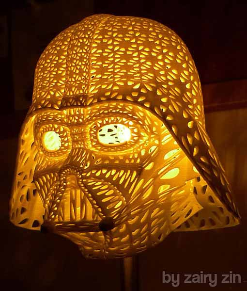 darth vader table lamp unique lighting design star wars decorating theme - Unique Table Lamps