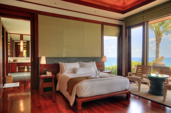 tropical bedroom decorating