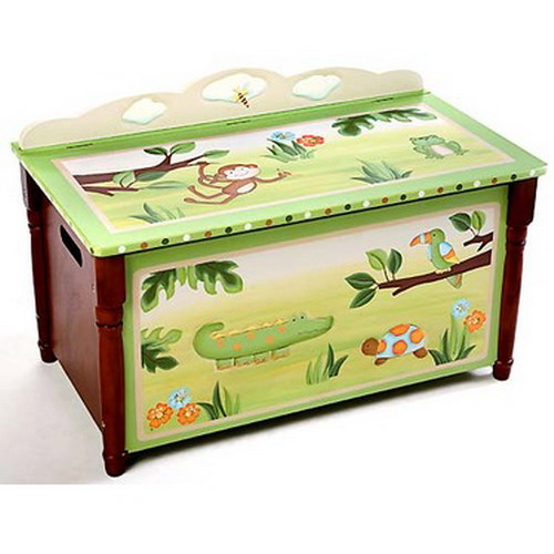 african themed decor, toy chest