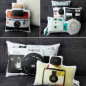 camera photographs printed on fabric for making pillows
