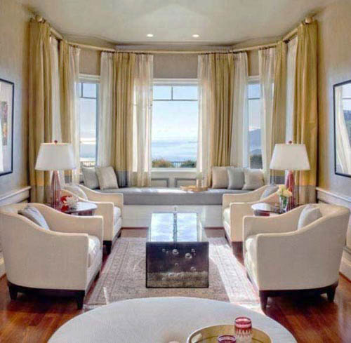 Bay Window Decoration: 18 Window Seat Design And Interior Decor Ideas, Beautiful