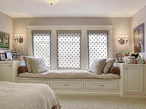 Window Seat Designs With Storage