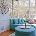bay window design with sofa