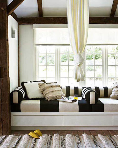 Window seats look gorgeous in any room and add beautiful decorative ...