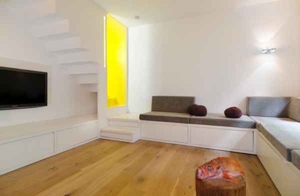 white and yellow color scheme
