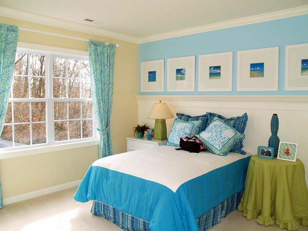 Blue Bedroom Decorating Ideas | DECORATING IDEAS