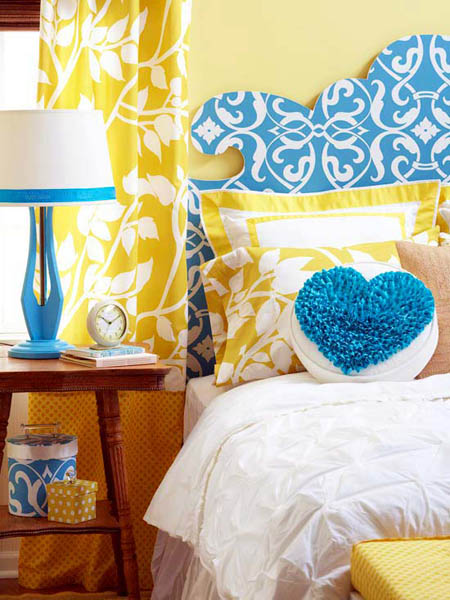 yellow and blue bedroom decorating ideas | My Web Value