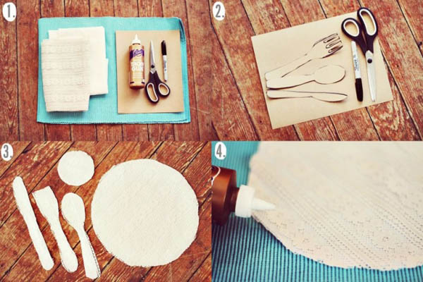 Diy Lace Place Mats Craft Ideas For Charming Table Decoration