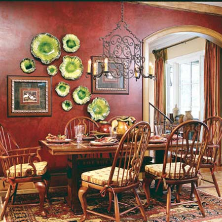 Dining Room Wall Decorating Ideas red wall decorating ideas - moncler-factory-outlets