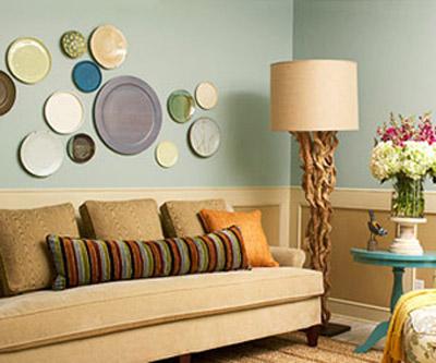 Ceramic Plates Collage