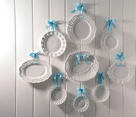Posted 09.05.2012 by Decor4all & Decorative Plates Collage Beautiful Wall Decorating Ideas
