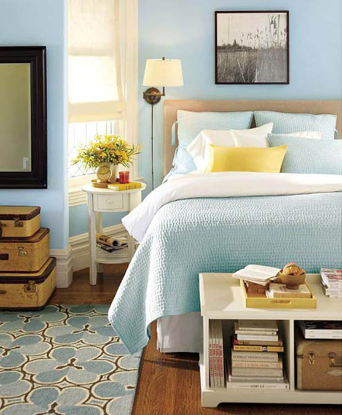 20 bedside table designs modern bedroom decorating ideas for Bedside decoration