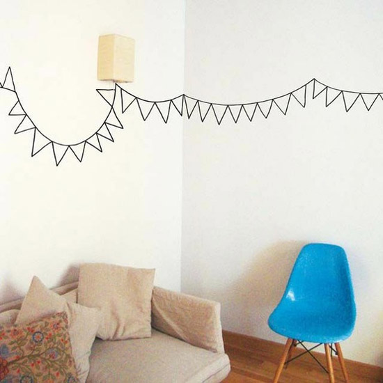 vinyl wall stickers, party decorations and ideas
