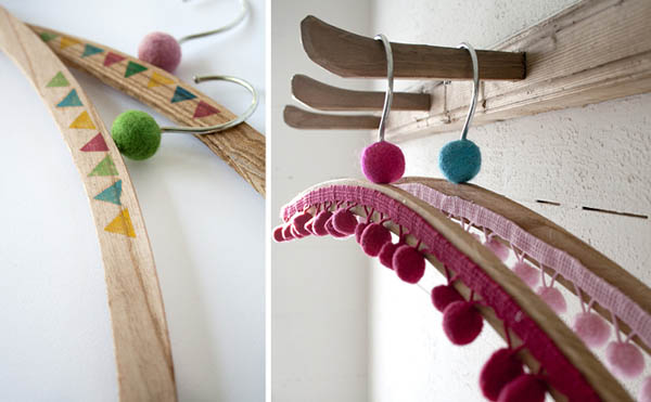 Closet Hanger Decorating Ideas