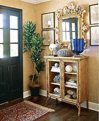 entryway design in colonial style house