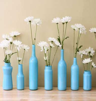 How to Turn A Simple Glass Vase Into A GORGEOUS Container