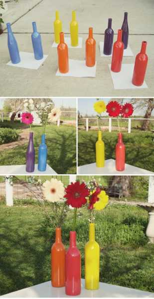 hand painted decorative vases