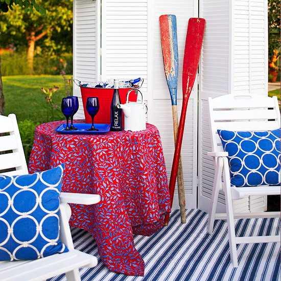Home Fabrics For Outdoor Decor Beautiful Summer