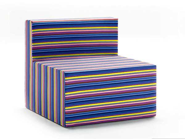 bright striped chair upholstery fabric
