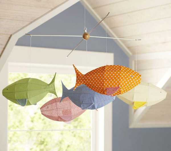 fish decorations for children bedrooms