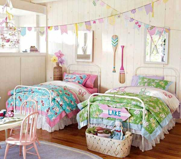 Nautical decorating ideas for kids rooms from pottery barn for Seashell bedroom decor