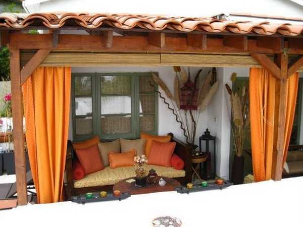 ... Patio Designs, Gazebo Or Pergola Sitting Areas Into Romantic And Cozy  Private Retreats, Adding More Color And Interest To Your Summer Decorating  Ideas.