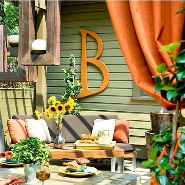 28 Outdoor Lighting Diys To Brighten Up Your Summer: Outdoor Curtains For Porch And Patio Designs, 22 Summer