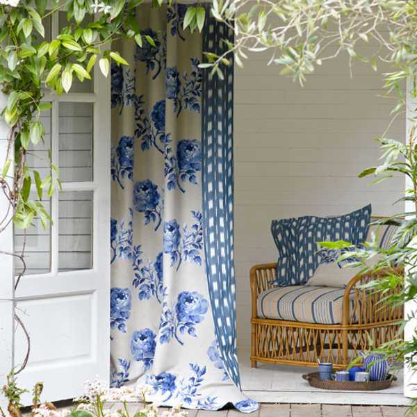 Outdoor Smart And Creative Design Front Porch Ideas: Outdoor Curtains For Porch And Patio Designs, 22 Summer