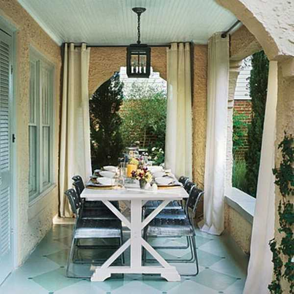 Outdoor Curtains for Porch and Patio Designs, 22 Summer Decorating