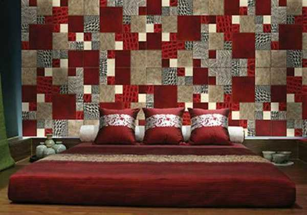 Patchwork wall decor ideas 16 striking accent wall designs for Cool wall patterns