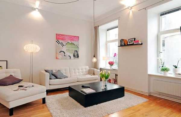 Airy apartment decorating in swedish style modern apartment ideas