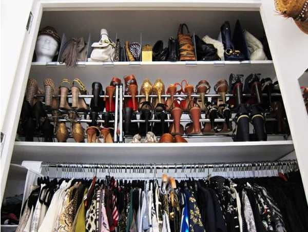 40 handbag storage solutions and home organizers for small spaces - Best shoe storage solutions for small spaces paint ...