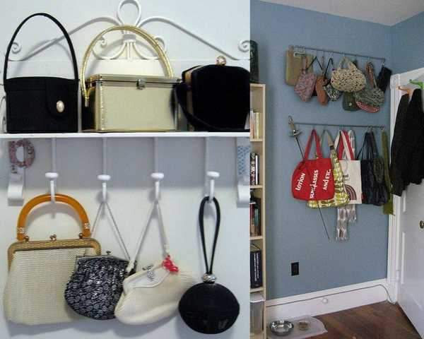 Wall Hooks For Bags