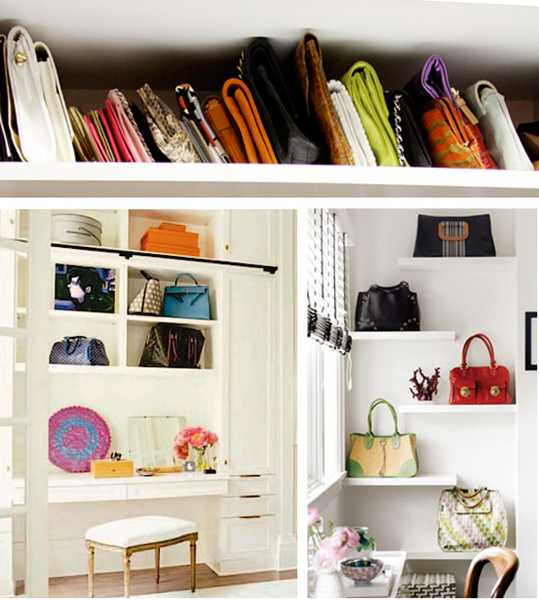 40 handbag storage solutions and home organizers for small - Porta coperchi pentole ikea ...