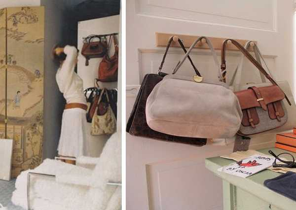 door racks for bags