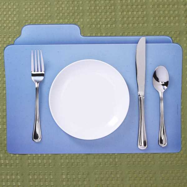 file holder place mat