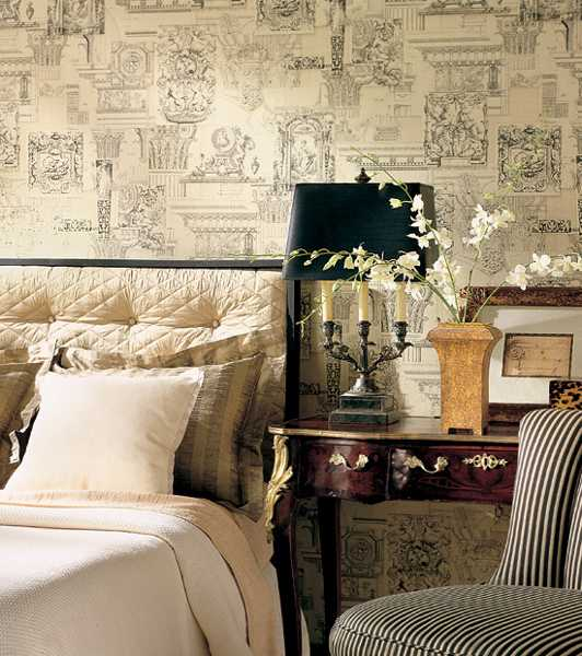 Modern decorating ideas wallpaper : Modern bedroom ideas in classic style beautiful