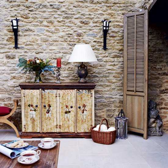 Wall Decorating Ideas Country Style : Modern ideas bringing black color into country style decor