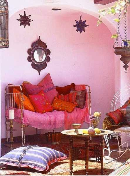 Bohemian Living Room Decor Ideas